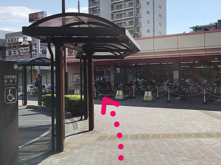 蒲生駅からのご案内3
