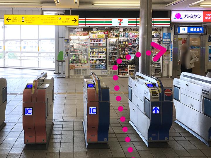 小田急相模原駅からのご案内1
