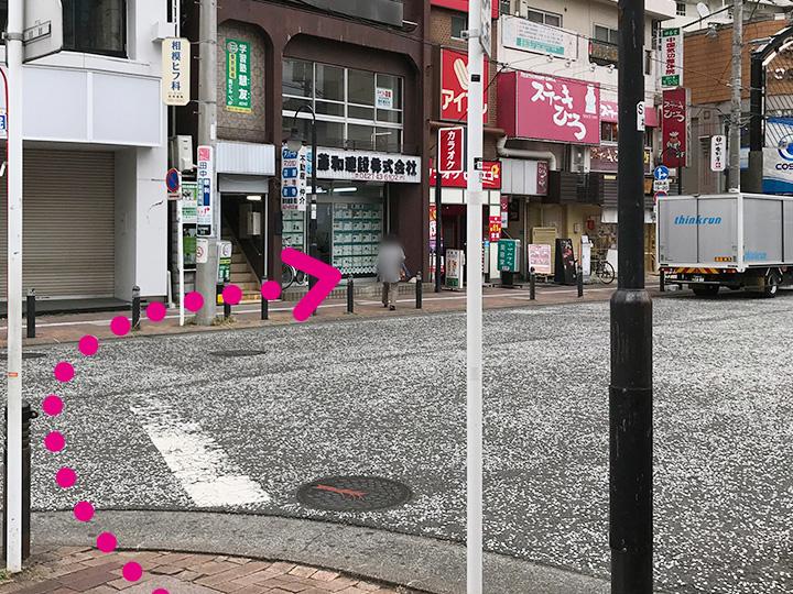 小田急相模原駅からのご案内2