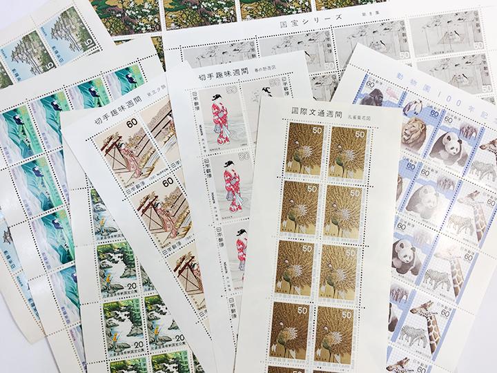 蒲生店で切手記念シート買取りました!