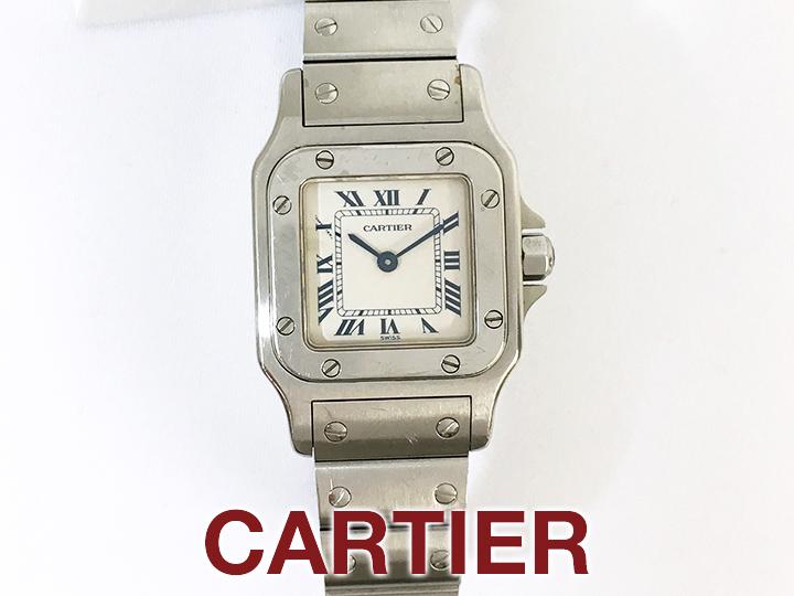 Cartier サントスガルベSM 買取りました!