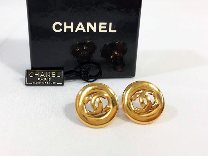 蒲生店でシャネルのイヤリングを買取りました
