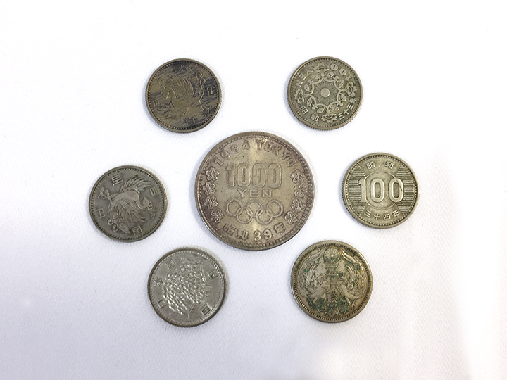 蒲生店で古銭買取りました