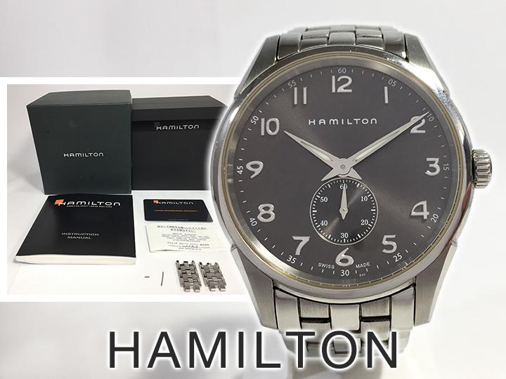 時計 ハミルトン 買取りました