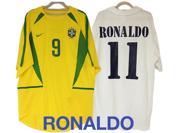 ブラジル代表&マドリー ロナウドのユニフォーム買取りました!