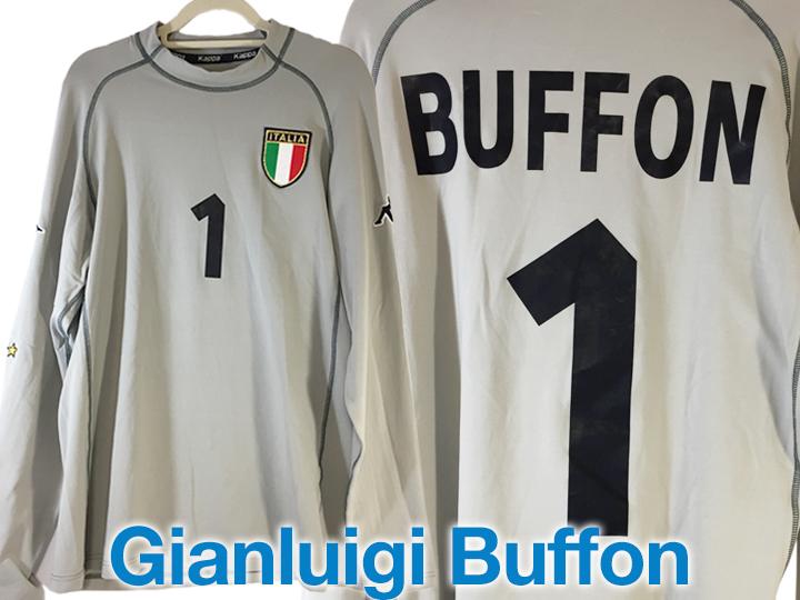 ユニフォーム買取事例:ブッフォン イタリア代表