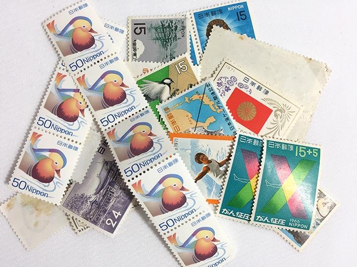 蒲生店で古い切手買取りました
