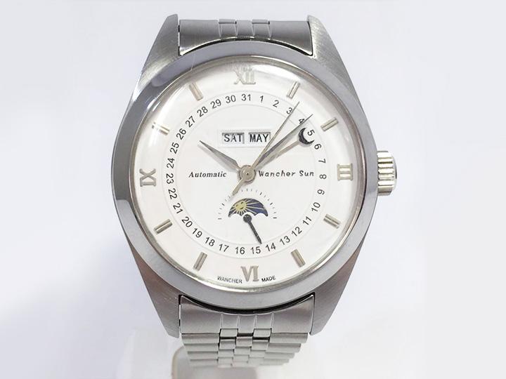 ワンチャー サンフェイズ 腕時計 買取りました
