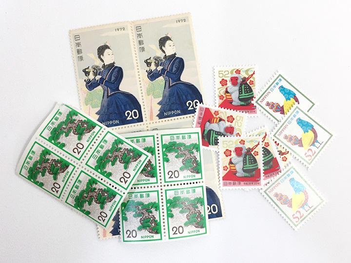 川崎平間店で 切手 買取りました