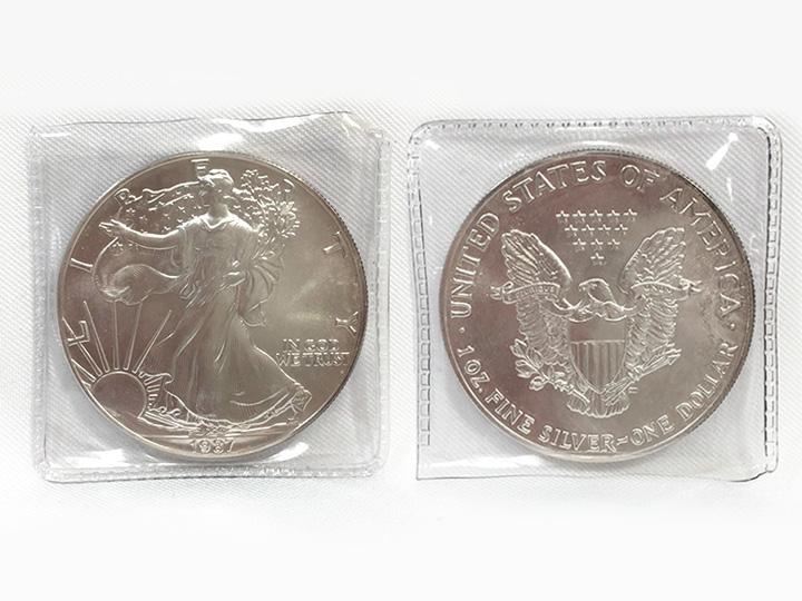 アメリカ 1ドル銀貨 買取りました