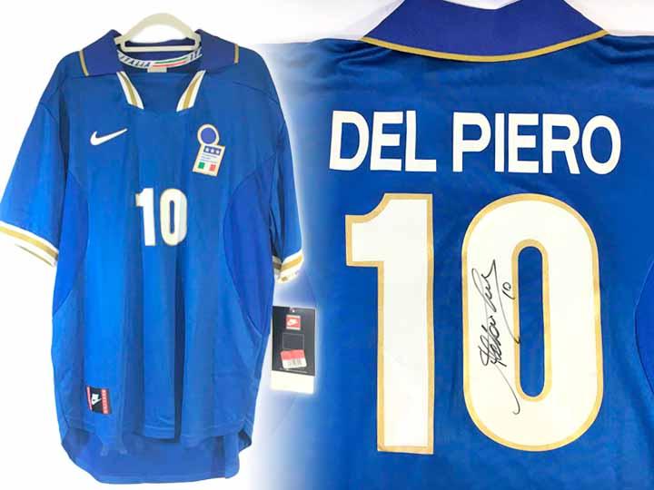 ユニフォーム買取事例 イタリア代表 デルピエロ #10