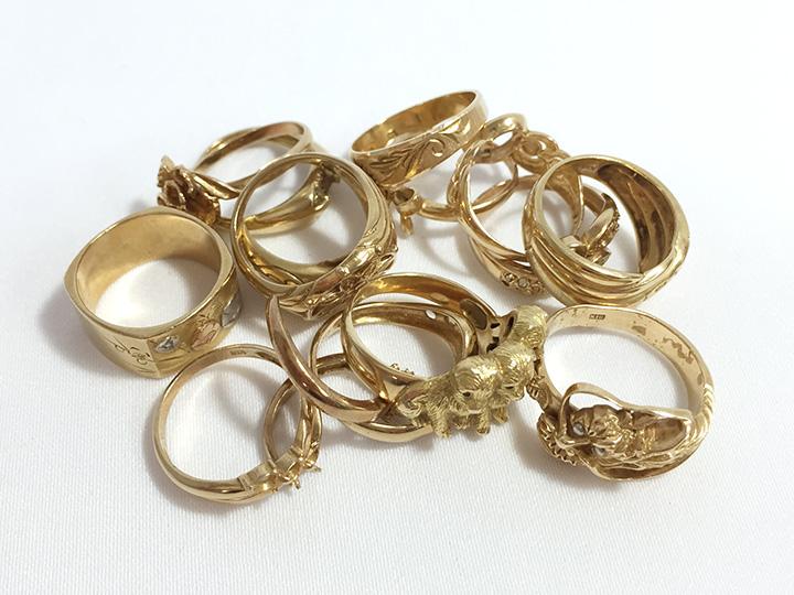 金 指輪 買取事例