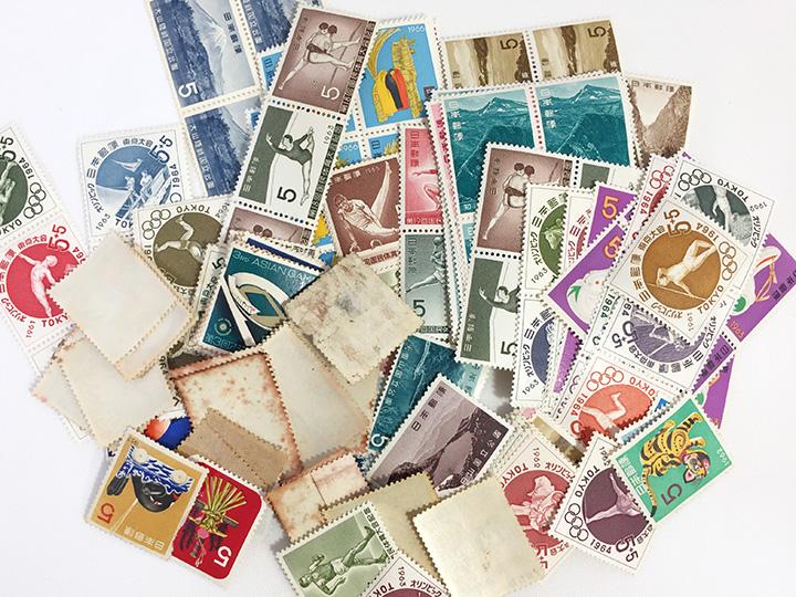切手買取事例 古いバラ切手