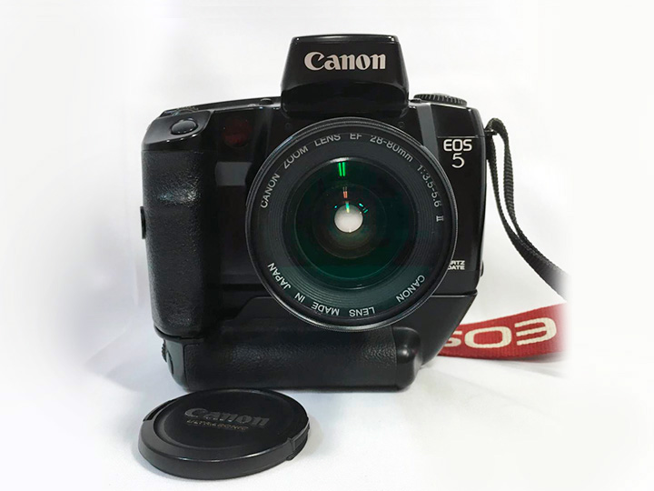 カメラ買取:キャノン EOS5