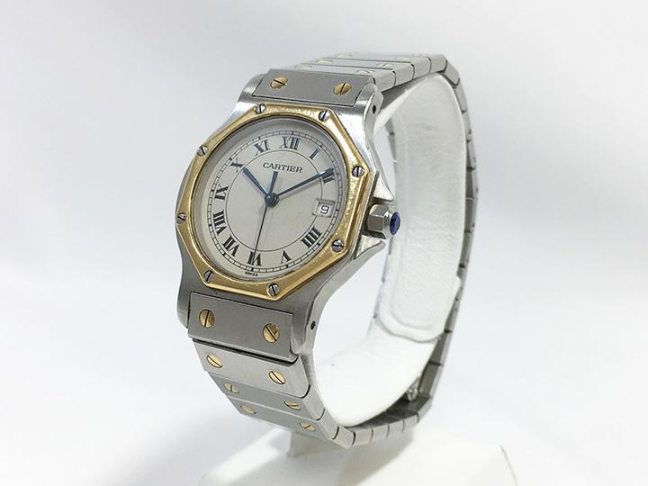 時計買取事例:カルティエ サントスオクタゴン