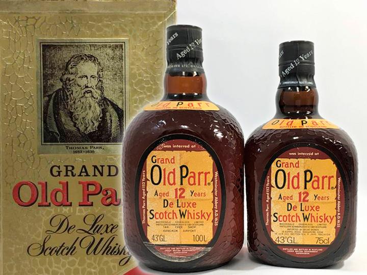お酒買取事例:オールドパー 12年