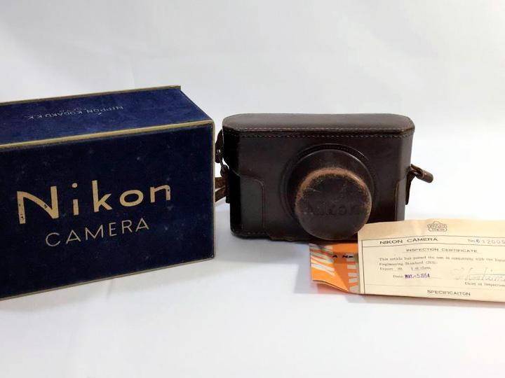 カメラ買取事例:ニコン S2 レンジファインダーカメラ