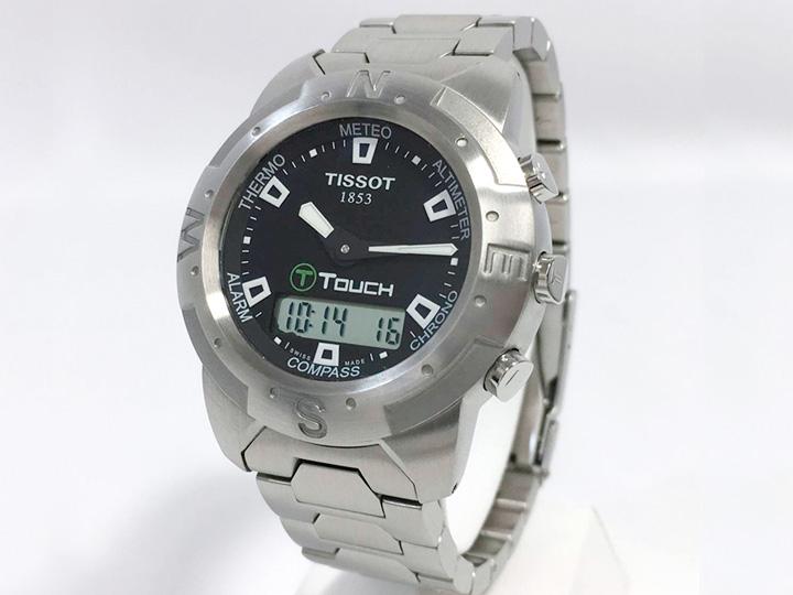 時計買取事例:TISSOT T-TOUCH