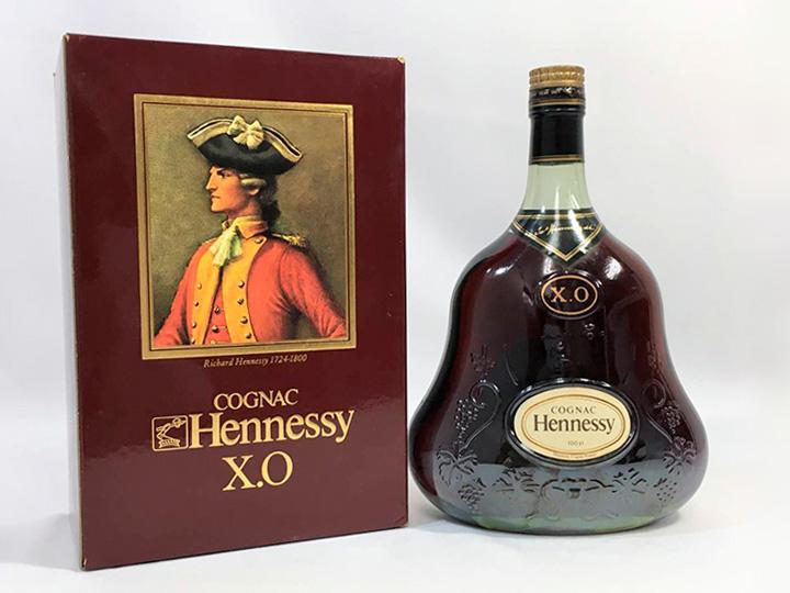 お酒買取事例:ヘネシー X.O 金キャップ
