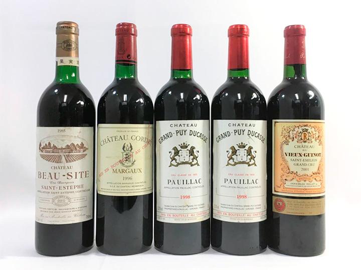 お酒買取事例:フランス ボルドー ワイン
