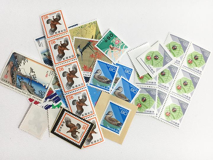 切手買取事例:バラ切手 1枚からOK!
