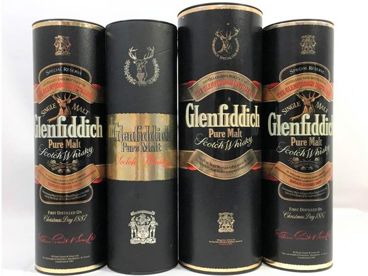 お酒買取事例:グレンフィディック スコッチウイスキー