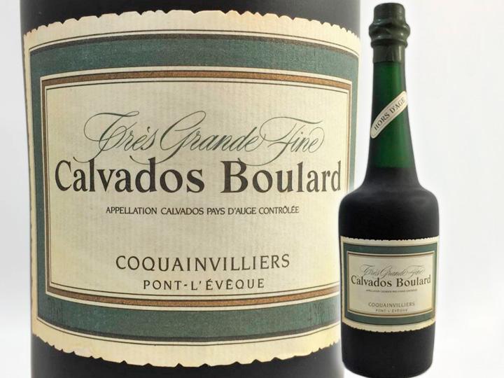 お酒買取事例:ブランデー カルヴァドス ブラー