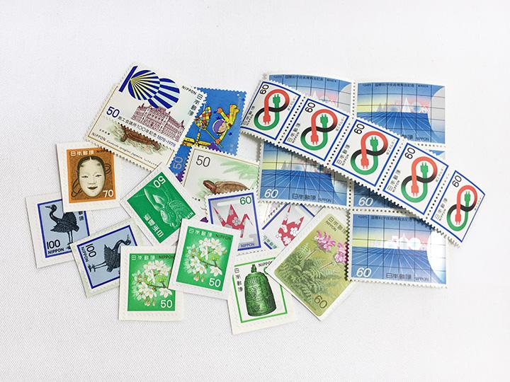 切手買取事例:普通切手 記念切手