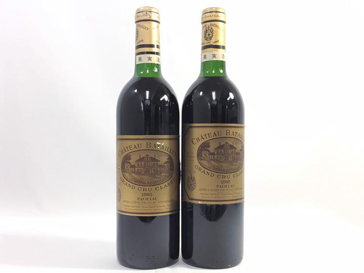 お酒・ワイン買取事例:シャトー バタイエ