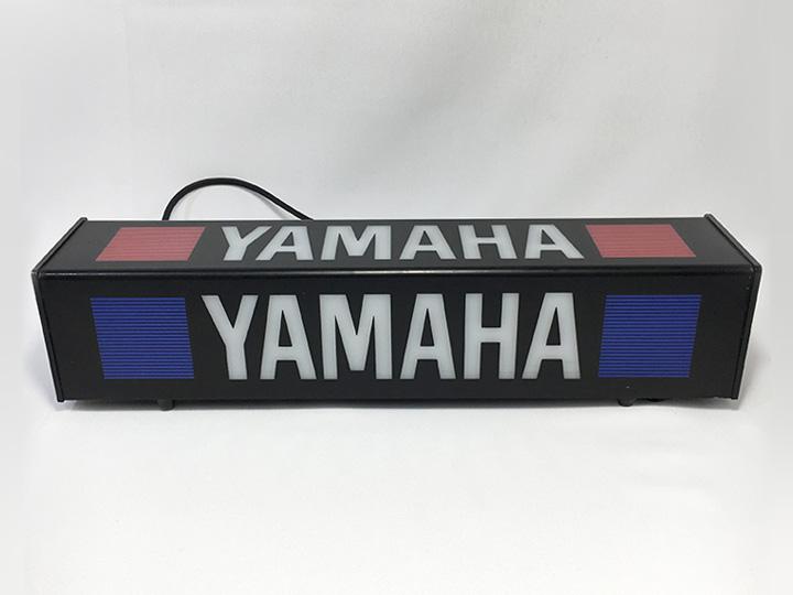 コレクション買取事例:YAMAHA ロゴ 電飾看板