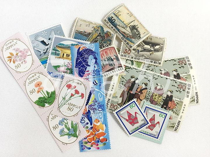 切手買取事例:バラ切手