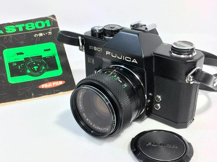 カメラ買取事例:フジカ ST801