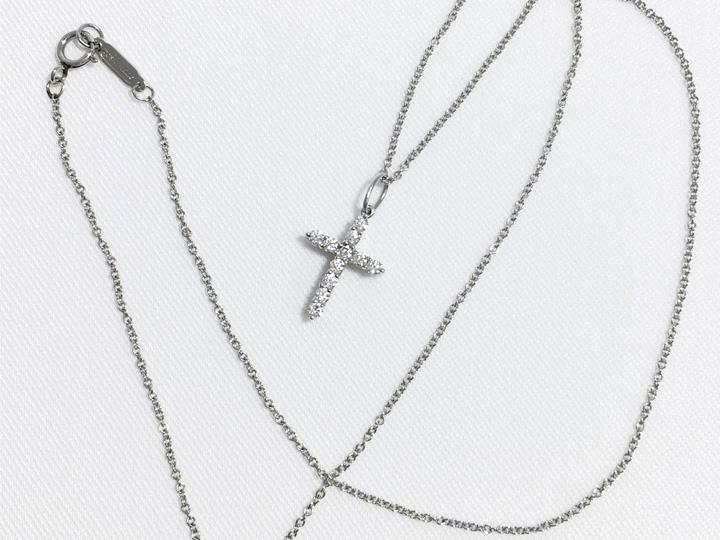 ブランドジュエリー買取事例:ティファニー ダイヤモンド ネックレス