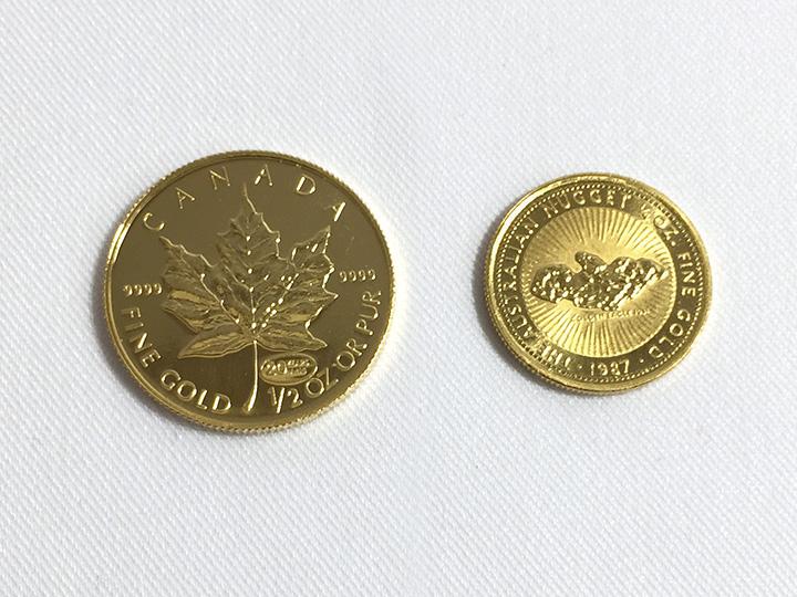 金買取事例:外国コイン 金貨