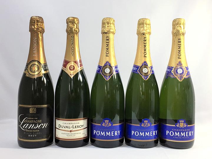 お酒買取事例:シャンパン
