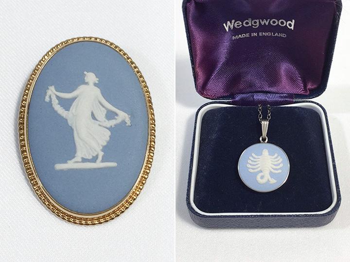 ウェッジウッド買取事例:ブローチ ネックレス
