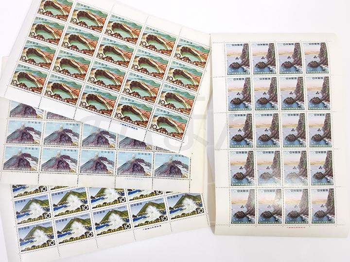 切手買取事例:記念切手シート