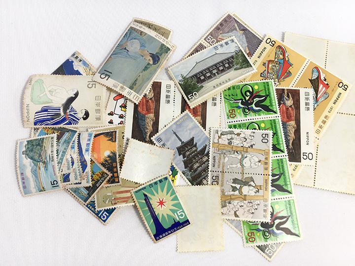 切手買取事例:50円切手 15円切手