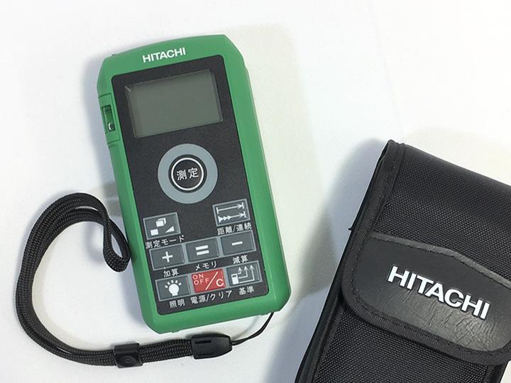 電動工具買取事例:日立 レーザー距離計