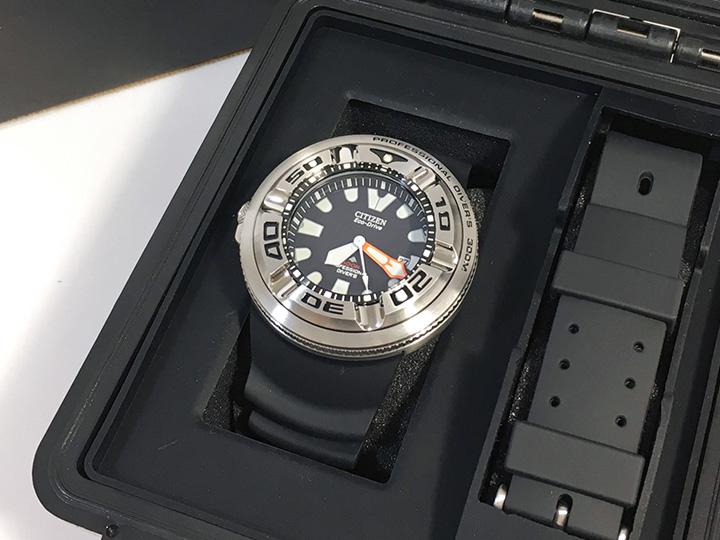 時計買取事例:シチズン プロフェッショナル ダイバーズ