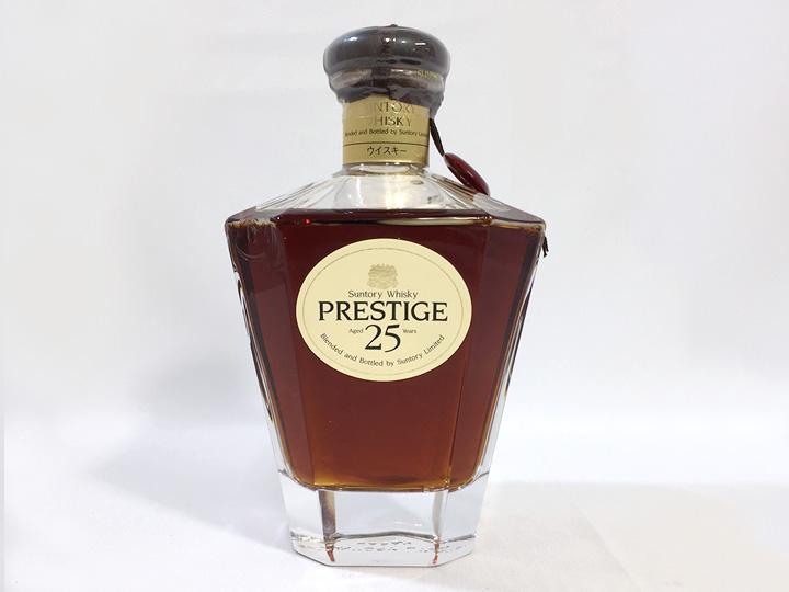 お酒買取事例:サントリー プレステージ 25年
