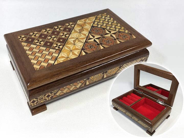 工芸品買取事例:寄木細工 ジュエリーボックス