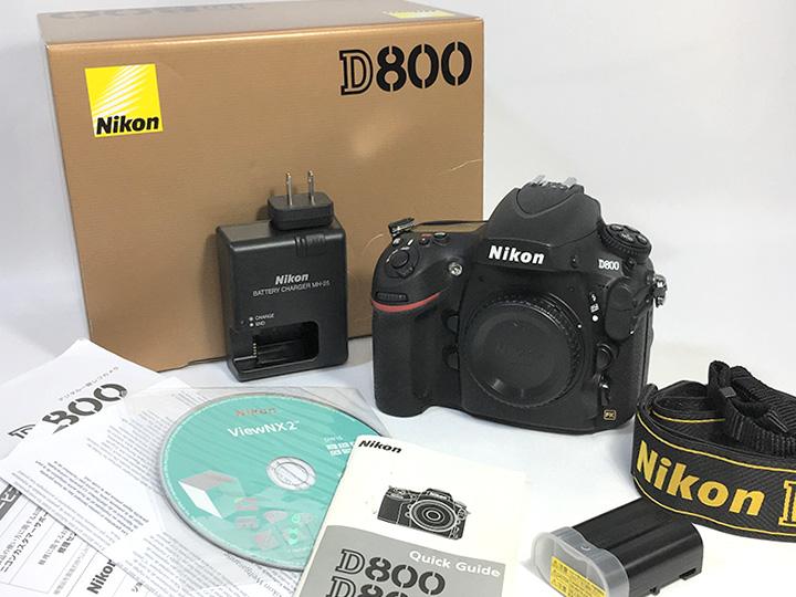 カメラ買取事例:ニコン D800