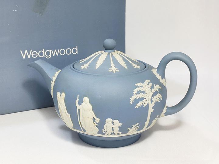 洋食器買取事例:ウェッジウッド ジャスパー ティーポット