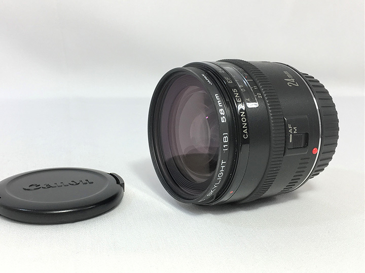 カメラレンズ買取事例:キヤノン EF24mm
