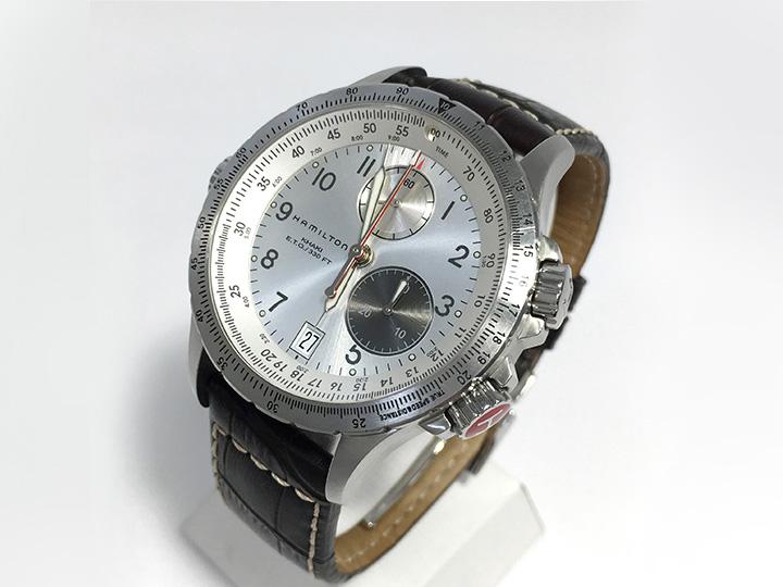 時計買取事例:ハミルトン カーキ