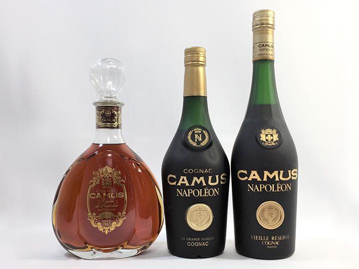 お酒買取事例:カミュ ナポレオン