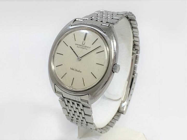 時計買取事例:ユニバーサル ジュネーブ ホワイトシャドウ