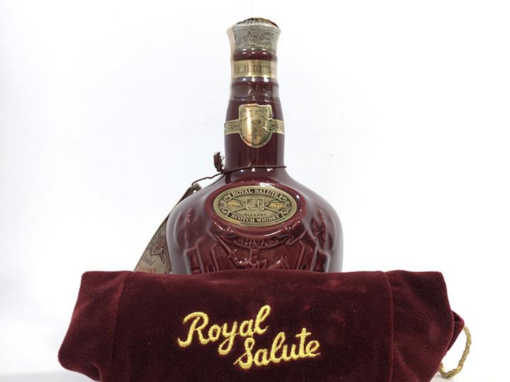 お酒買取事例:ロイヤルサルート