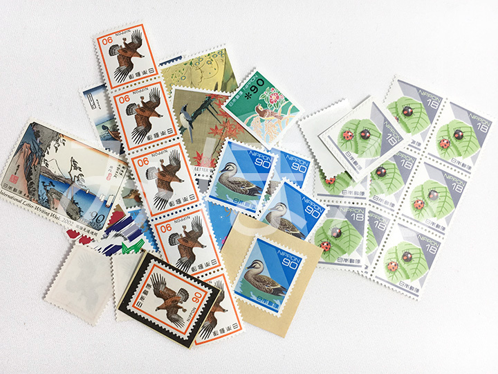 切手買取事例:切手1枚からOK